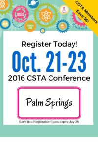 2016 California Science Education Conference @ Palm Springs Convention Center | Palm Springs | California | United States
